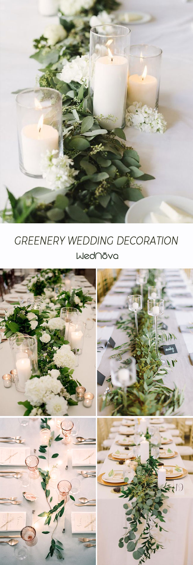 50+ Greenery Wedding Ideas to Inspire Your Big Day - WedNova Blog
