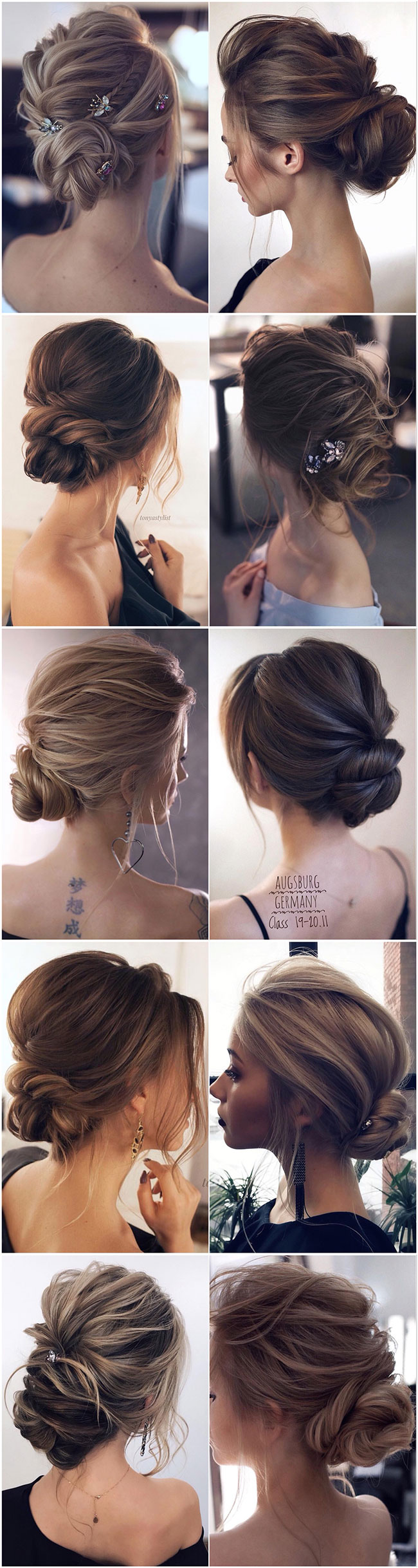 11+ Best Wedding Hairstyles from Tonyastylist for the Modern Bride