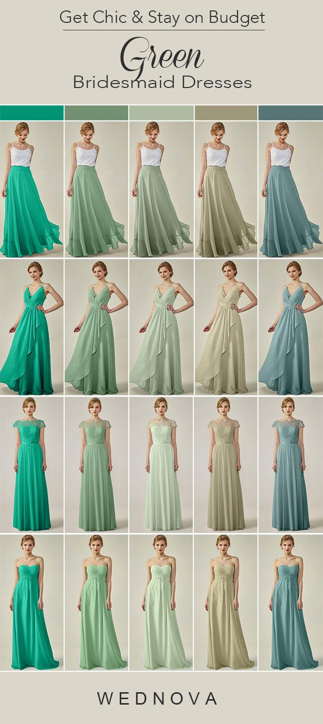 Mauve Bridesmaid Dresses Budget
