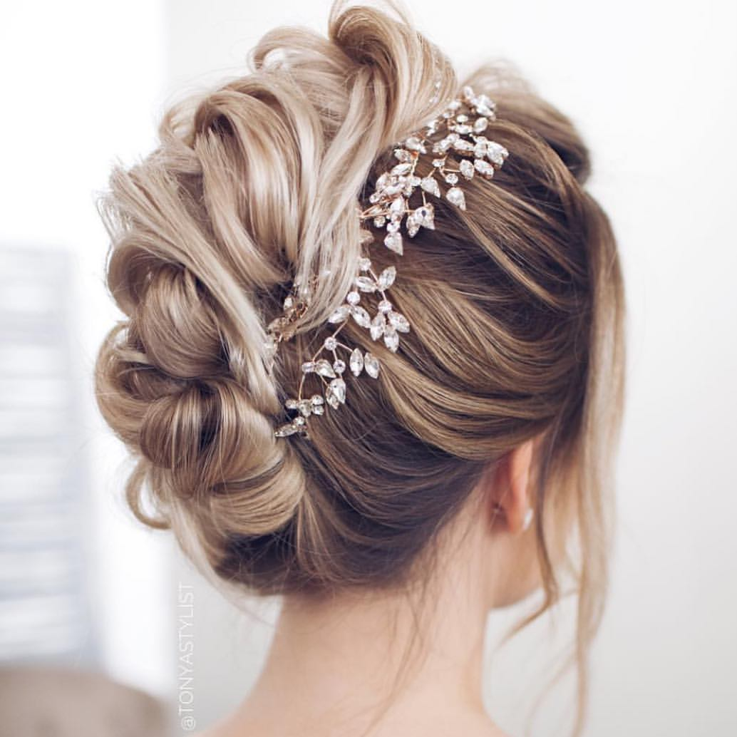Modern Wedding Hairstyles: 62 Wedding Hairstyles From Ulyana Aster To Get You