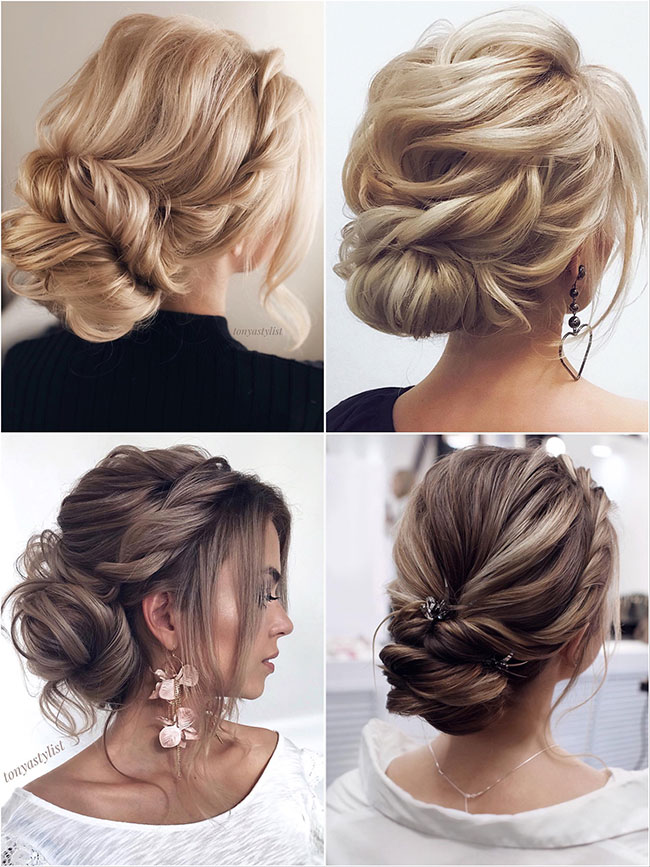 7d79cbdf0f 60+ Best Wedding Hairstyles from Tonyastylist for the Modern Bride ...