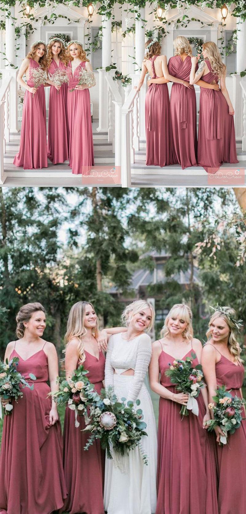 cf1f27e6c1d8 30+ Trendy Dusty Rose Wedding Color Ideas You'll Love - WedNova Blog