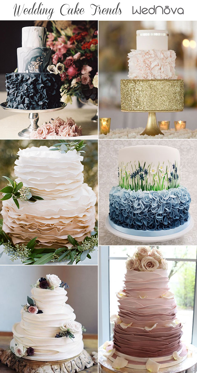 753adba0fe9 2019 Wedding Cake Trends to Inspire Your Big Day - WedNova Blog