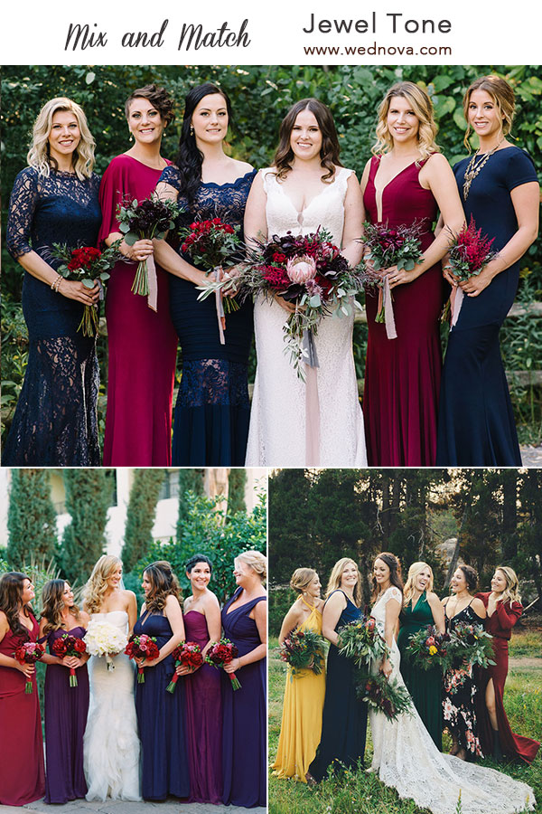 d2258b76f5b8 Mix and Match Bridesmaid Dresses Done Right: 7 Ways to Rock the ...