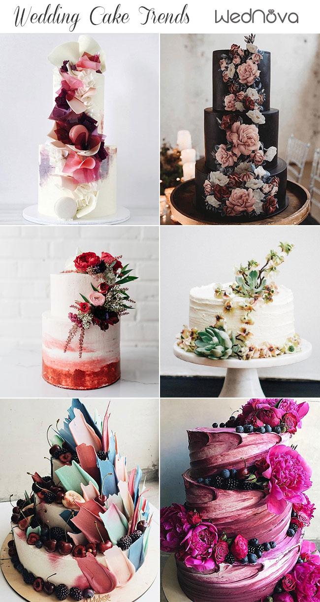 2019 Wedding Cake Trends to Inspire Your Big Day - WedNova Blog