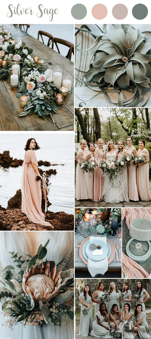 Top 10 Green Wedding Color Ideas For 2019 Trends You'll ...