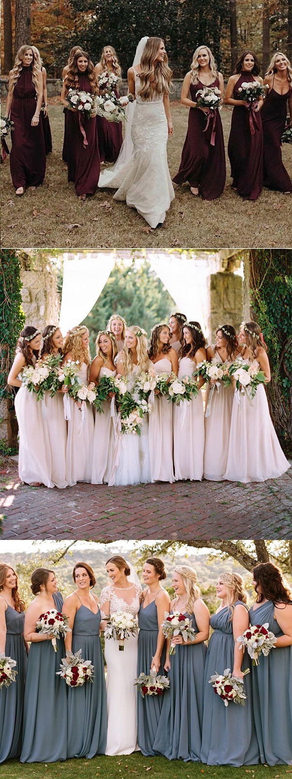 Mix And Match Bridesmaid Dresses Done Right 7 Ways To Rock The Trend Wednova Blog