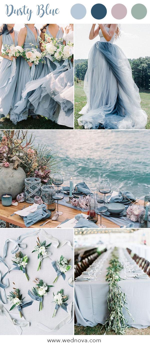 10 Hot Wedding Color Palettes For 2019 Trends Wednova Blog