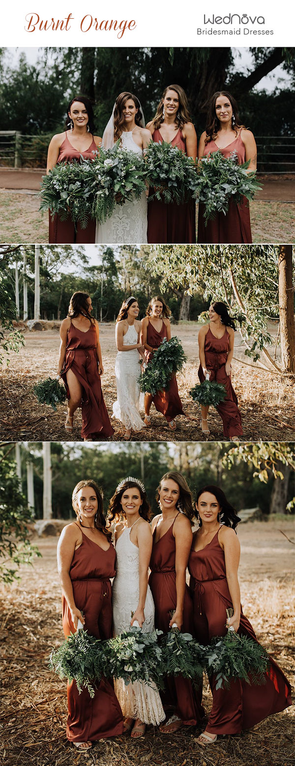 Trending 15 Ideas For Burnt Orange Bridesmaid Dresses For 2019 Wednova Blog,Designer Wedding Dresses Rent In Islamabad