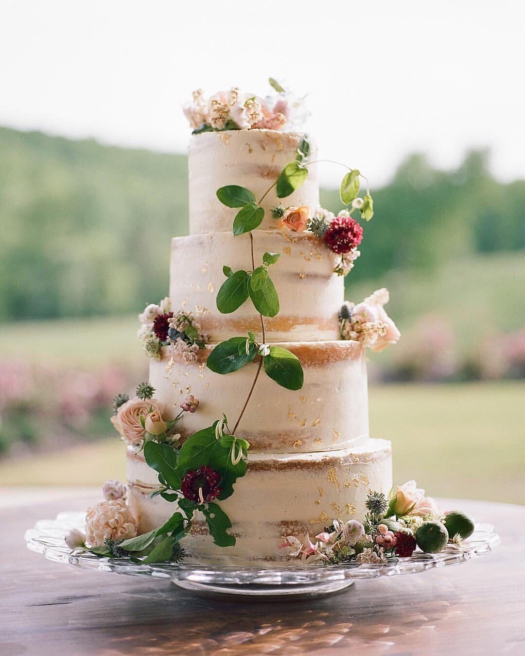 Rustic Wedding Cupcake Ideas: Top 10 Semi-naked Wedding Cakes We've Ever Seen
