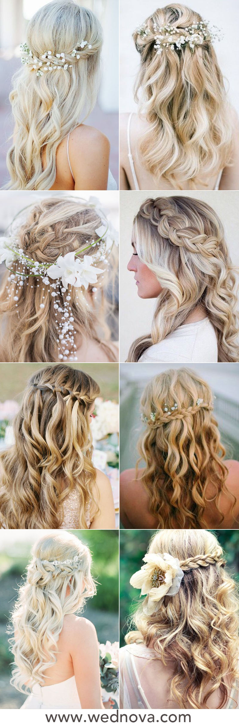 48 Easy Wedding Hairstyles Best Guide for Your Bridesmaids ...