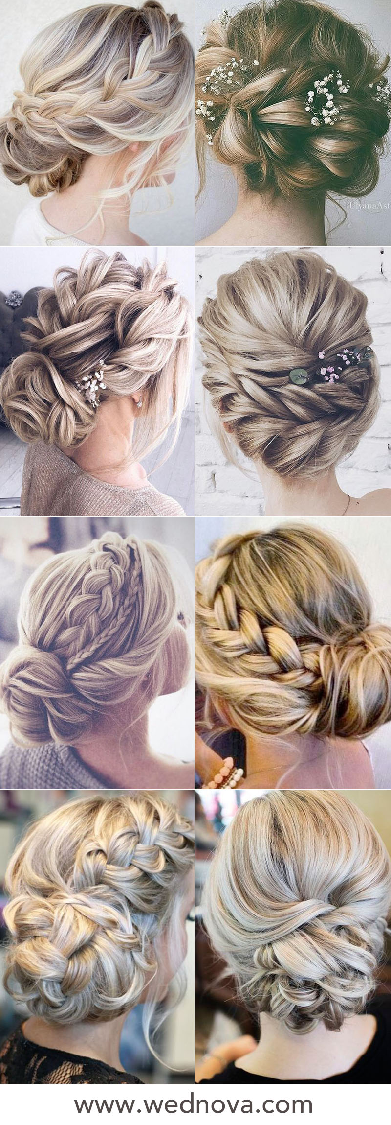 48 Easy Wedding Hairstyles Best Guide for Your Bridesmaids in 2019 -  WedNova Blog