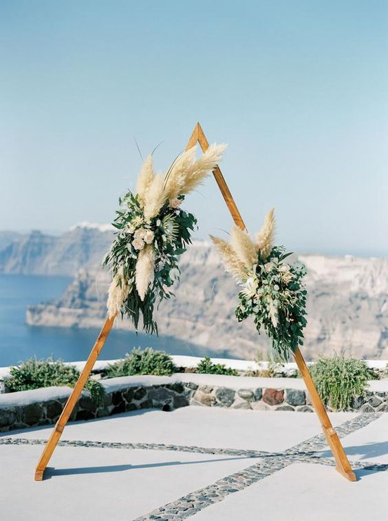 2019 Wedding Trend 40 Incredible Pampas Grass Wedding