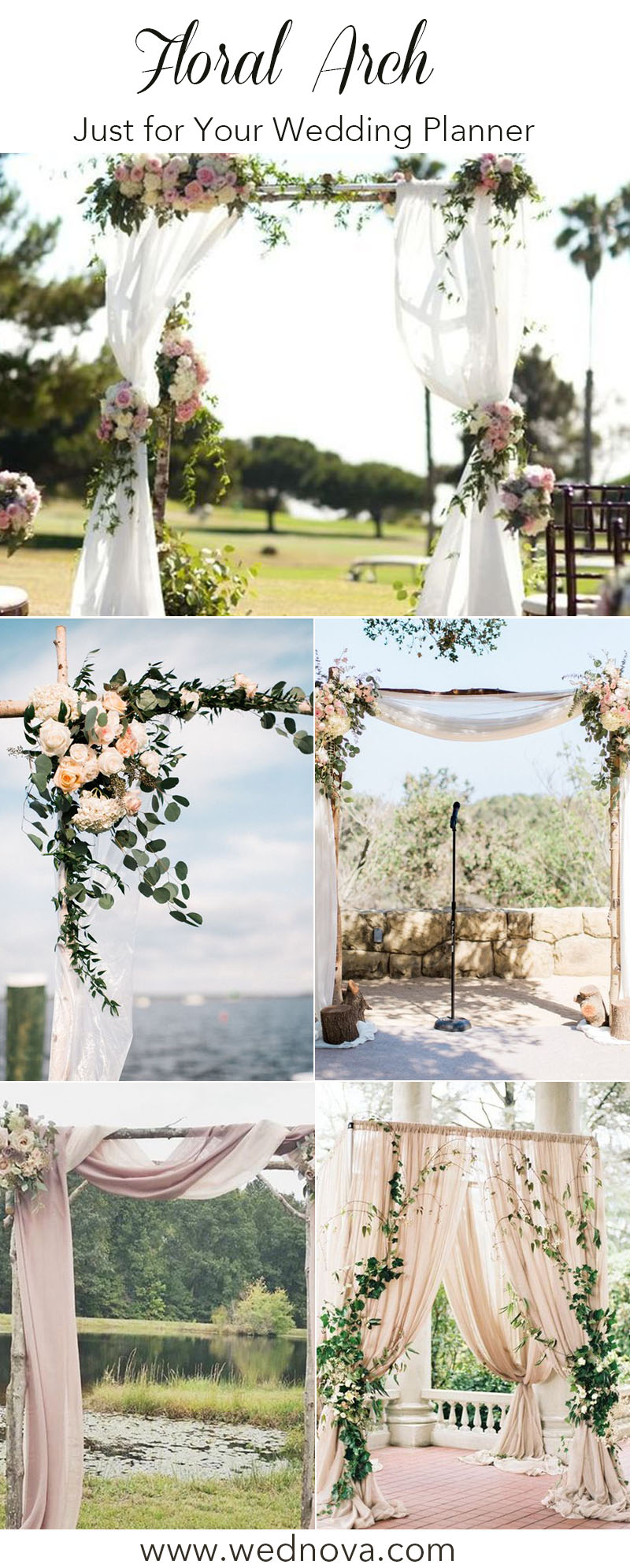 5 Unique And Personalized Wedding Arch Ideas Wednova Blog