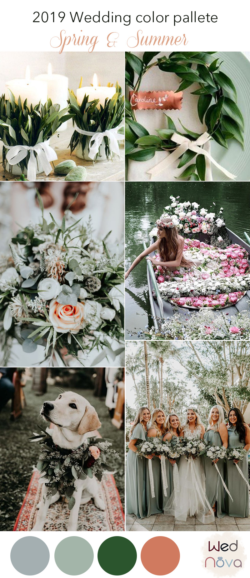 Spring Wedding Colors.12 Wedding Color Palettes That Are Perfect For Spring Wednova Blog