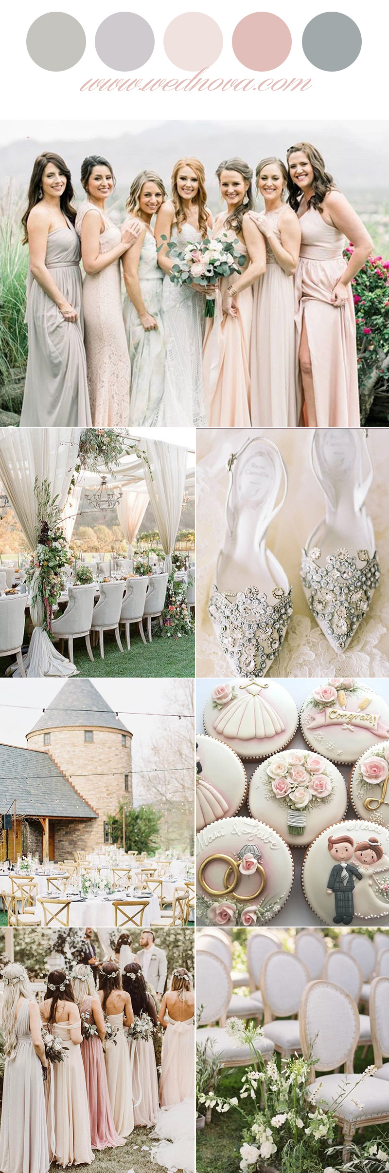 12 Wedding Color Palettes That Are Perfect for Spring ...