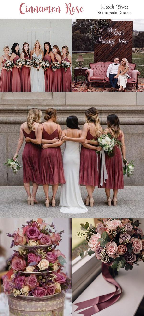 Fall Wedding Bouquets Blush