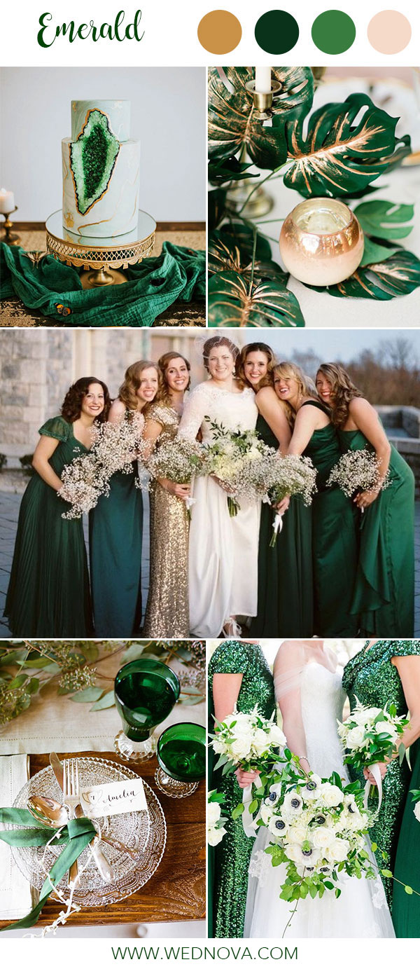 Shop The Bridesmaid Dresses: Emerald Green Summer Wedding Dresses At Websimilar.org