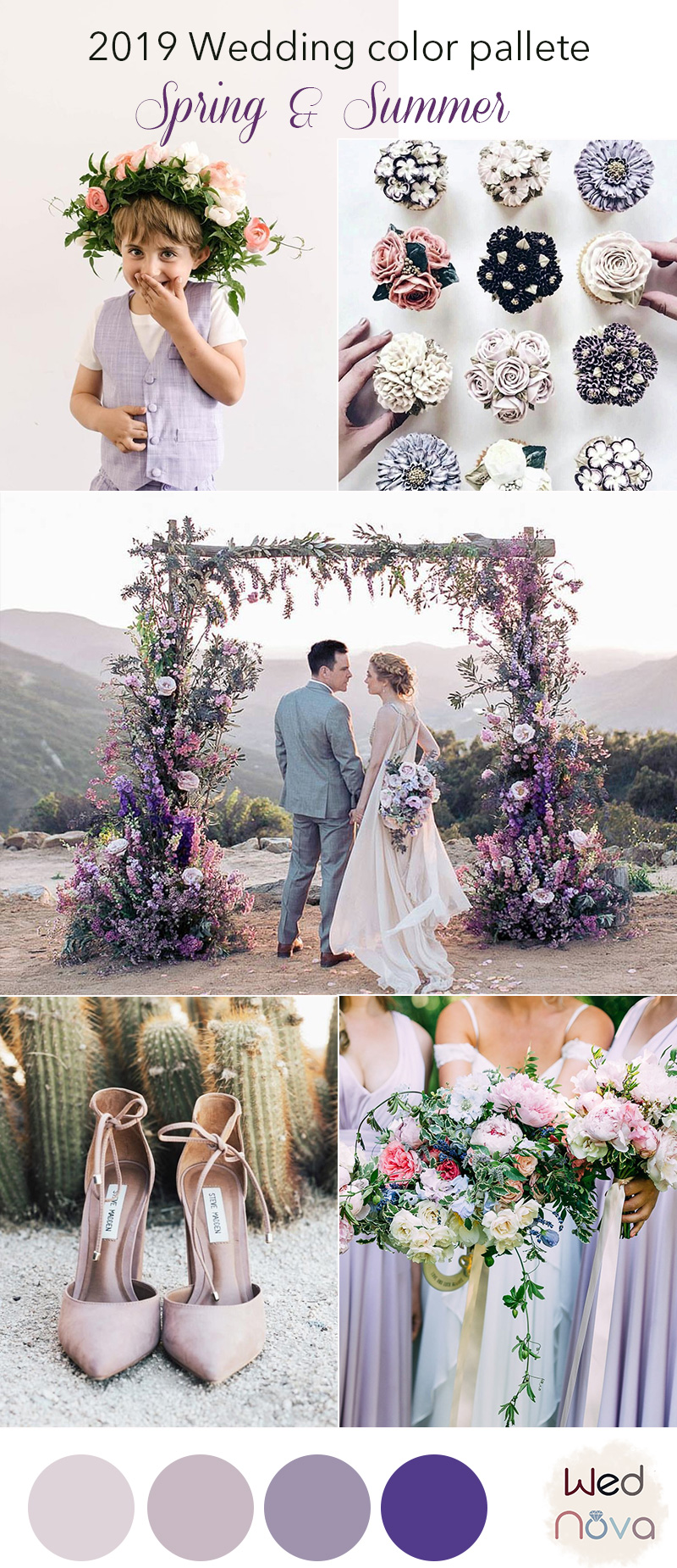 Summer Wedding Colors.12 Wedding Color Palettes That Are Perfect For Spring Wednova Blog