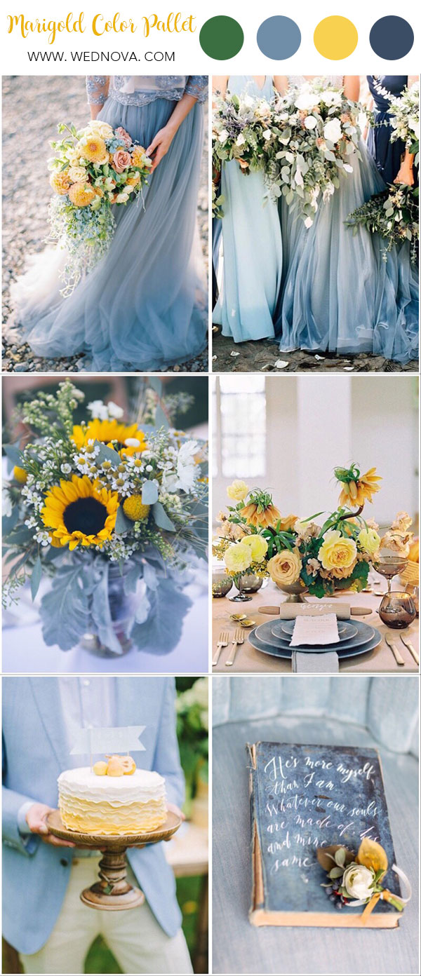 Summer Wedding Colors.Summer Wedding Color 10 Yellow Wedding Ideas To Have Wednova Blog