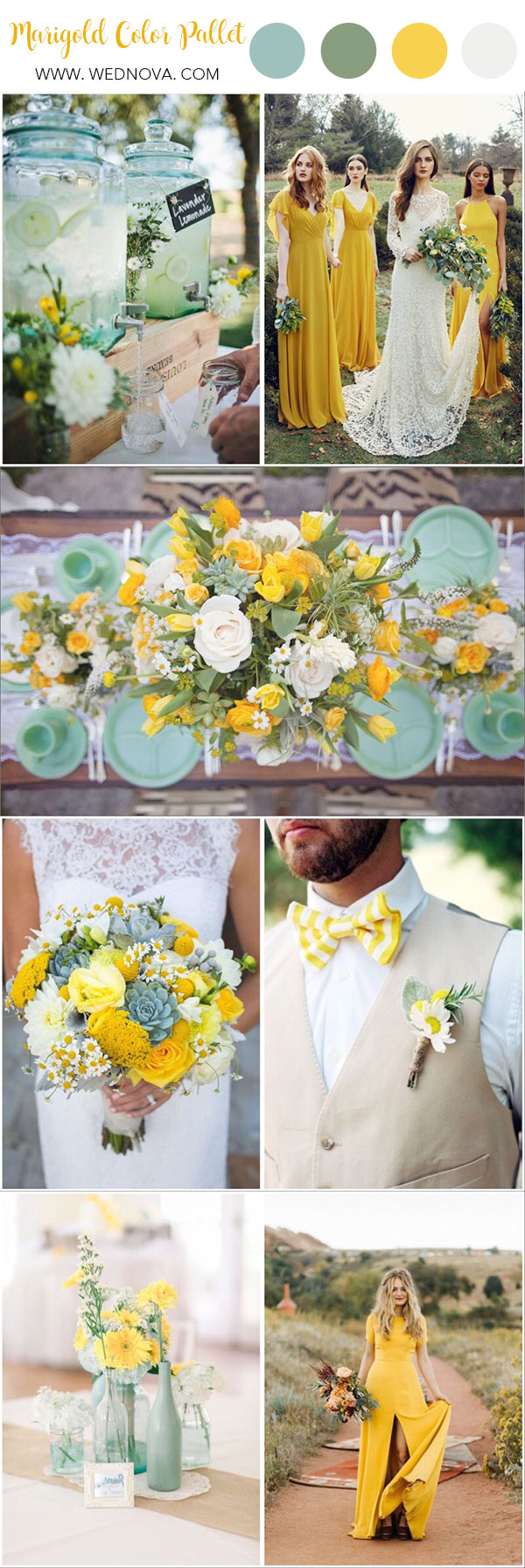 Summer Wedding Color 10 Yellow Wedding Ideas To Have Wednova Blog