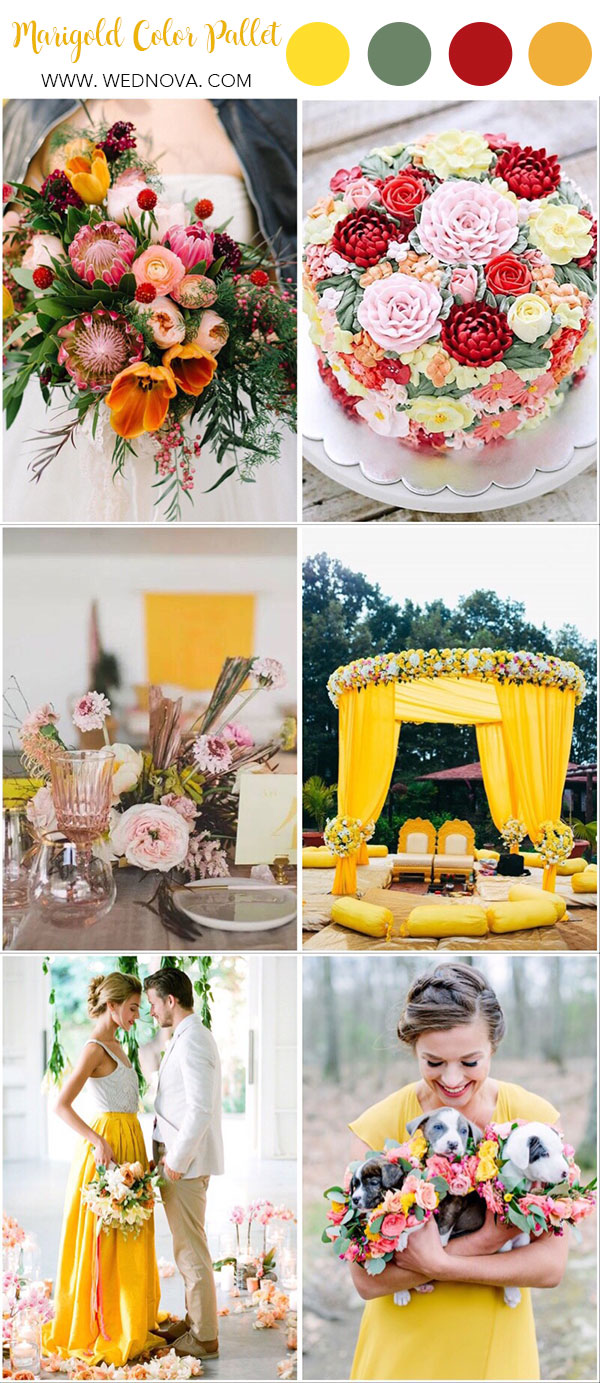 Wedding Colors For Summer.Summer Wedding Color 10 Yellow Wedding Ideas To Have Wednova Blog
