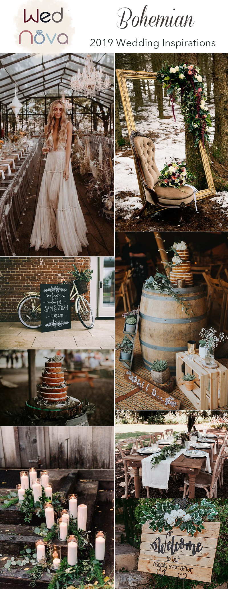 Top 15 Chic Boho Wedding Ideas Inspired Your Wedding Wednova Blog