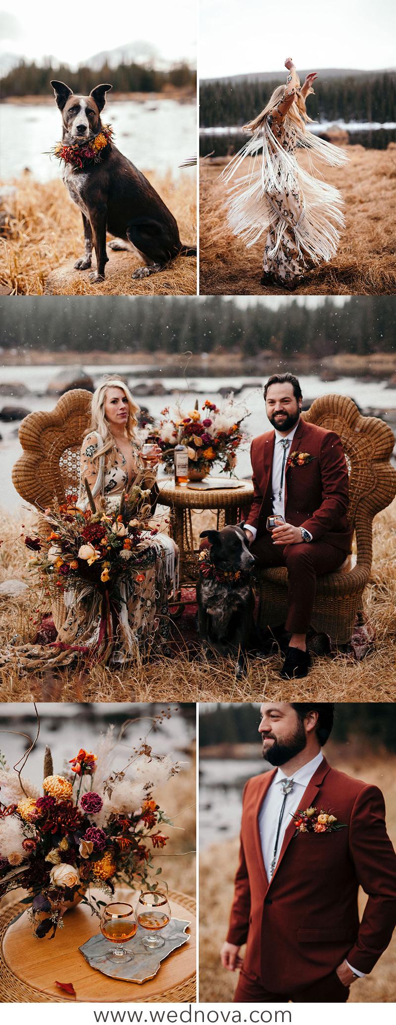 41a883512124 Top 15 Chic Boho Wedding Ideas Inspired Your Wedding - WedNova Blog