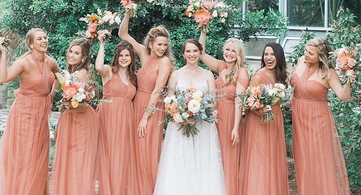 Should All Bridesmaid Dresses Be in the Same