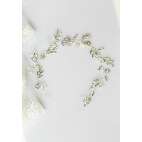 Elegant Flower Shaped Bridal Hair Clasp