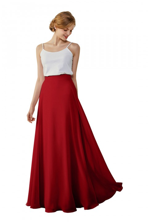 Bridesmaid Dress Skirt Chiffon