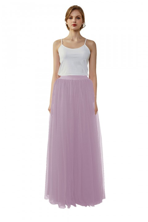 Wedding Bridesmaid Long Tulle Skirt