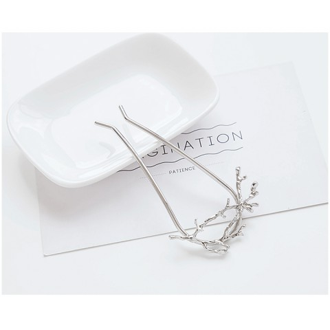 Retro Alloy Branch Shaped Hairpin (3 in a set)