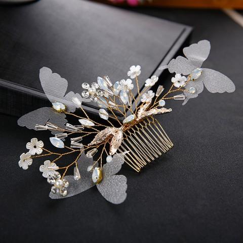 Chic Beading Bridal Hair Comb