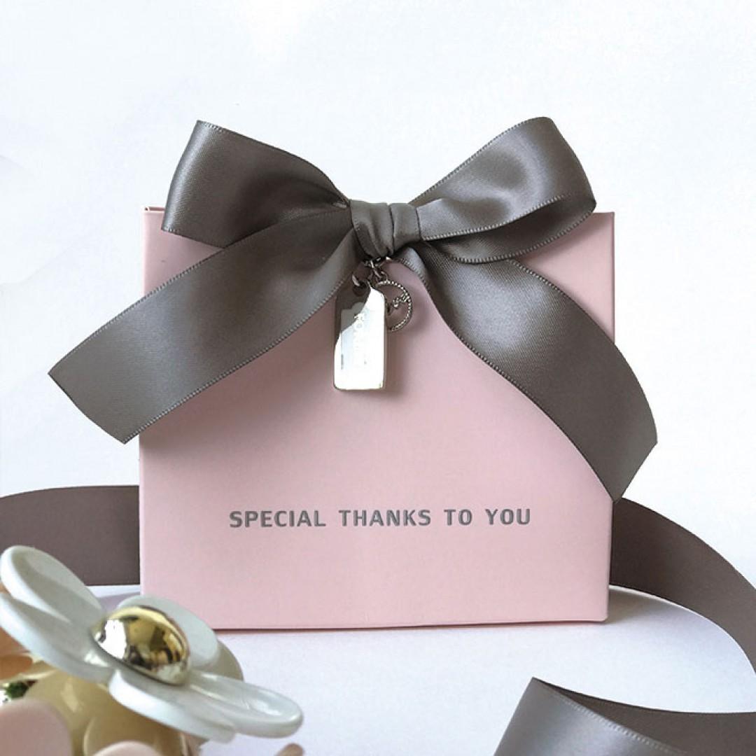 Ribbon Silver Accessories Elegant Wedding Favors